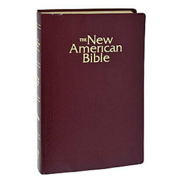 The New American Gift and Award Bible Burgundy W2402BG