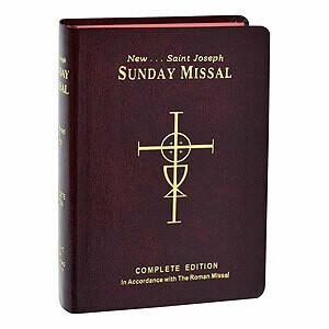 St Joseph Sunday Missal 820/09