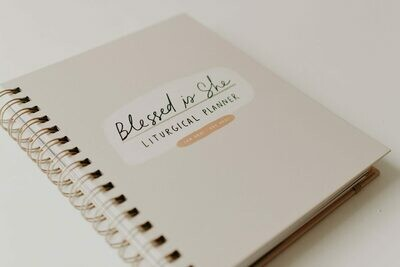 Blessed Is she MINI LITURGICAL CALENDAR YEAR PLANNER 2021