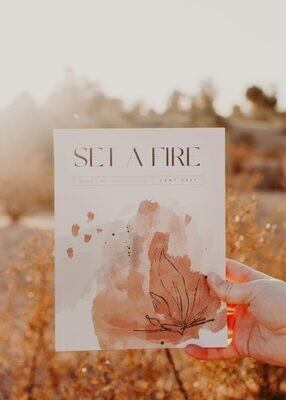 SET A FIRE THE CATHOLIC LENT DEVOTIONAL FOR WOMEN