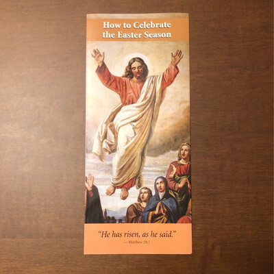 How to Celebrate the Easter Season OSV Pamphlet
