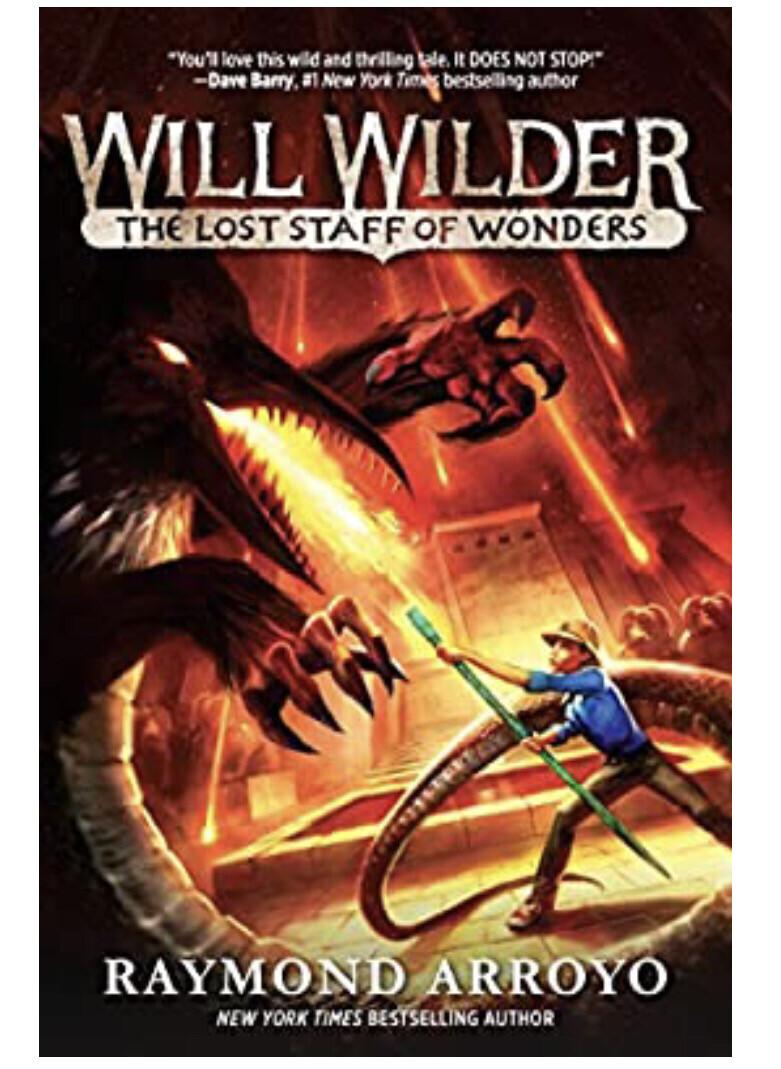 Will WIlder #2 The Lost Staff of Wonders