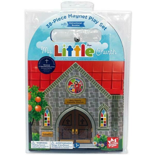 My Little Church Magnet Playset Wee Believers