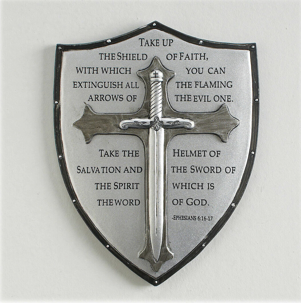 "6.5"" Armor of God Wall Plaque 60097"