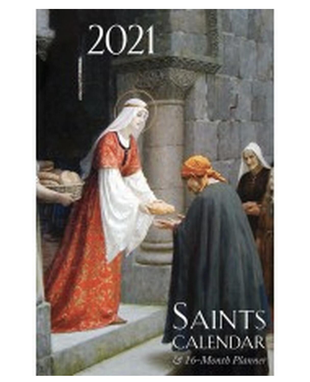 2021 Saints Calendar and 16-Month Planner