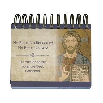FR. LARRY RICHARDS' SCRIPTURE DESK CALENDAR