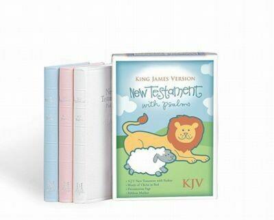 Bible KJV Baby New Testament/Psalms
