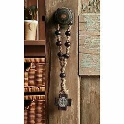 """St Benedict 12"""" Door Rosary"""