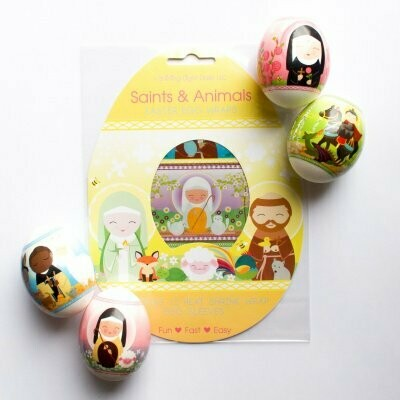 Saints and Animals Egg Wraps