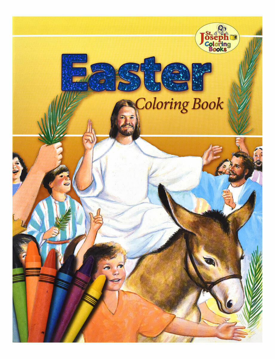 St Joseph: Easter Coloring Book