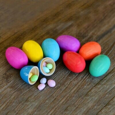 Story Egg® Wooden Candy Hiding Eggs