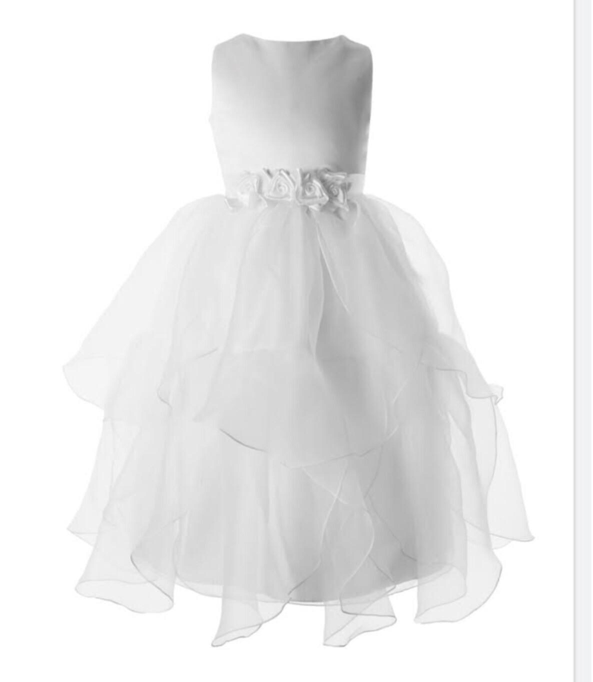 Communion Dress Satin, Tulle,  97303