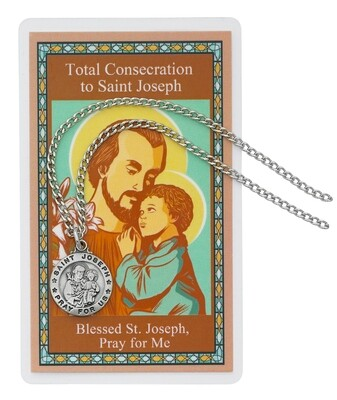 St Joseph Consecration Pendant Set 24