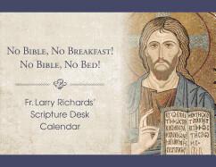 Fr Larry Richards Scriptural Perpetual Desk Calendar