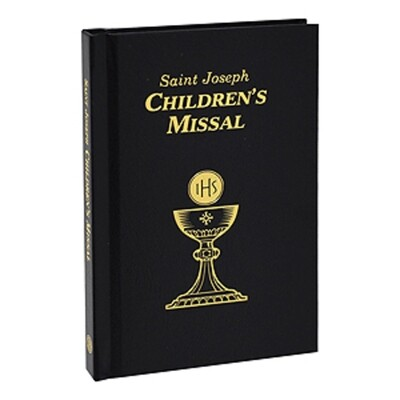 Childrens Missal Black 806/67B