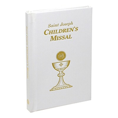 Childrens Missal White 806/67W