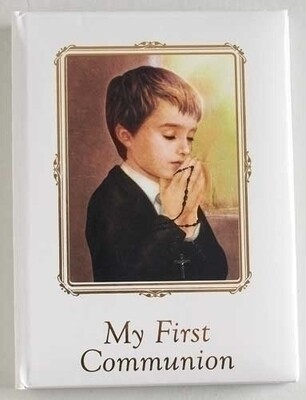 My First Communion Memory Book Boy