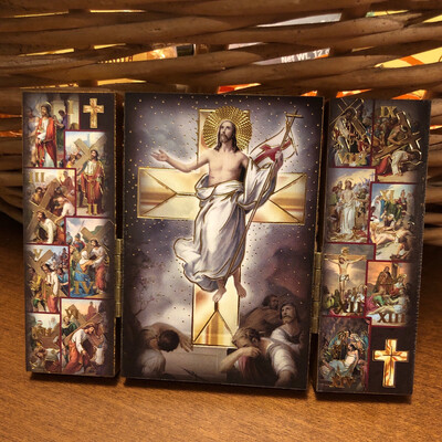 Way of the Cross Triptych 12092148
