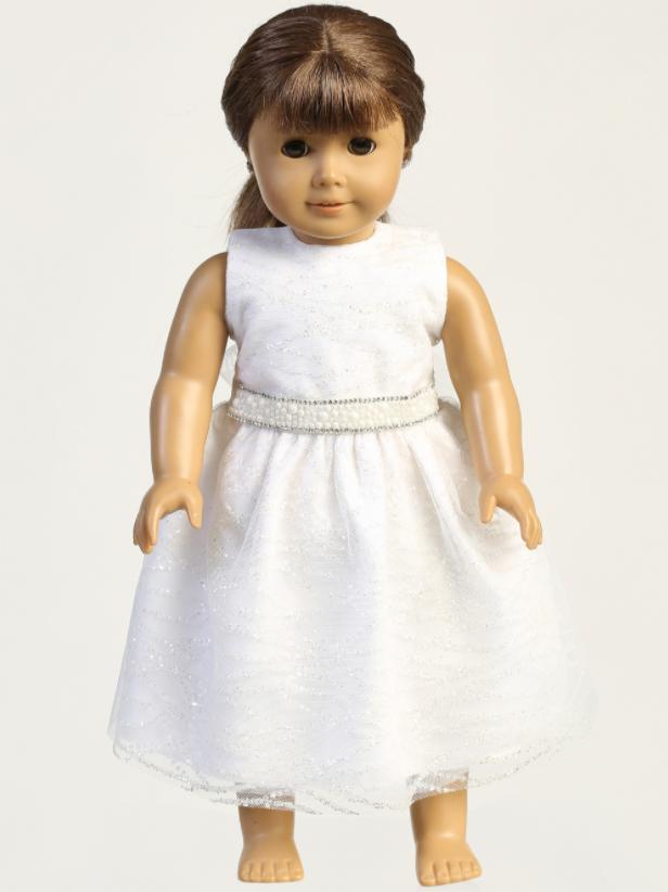 Doll dress - Glitter tulle SP181