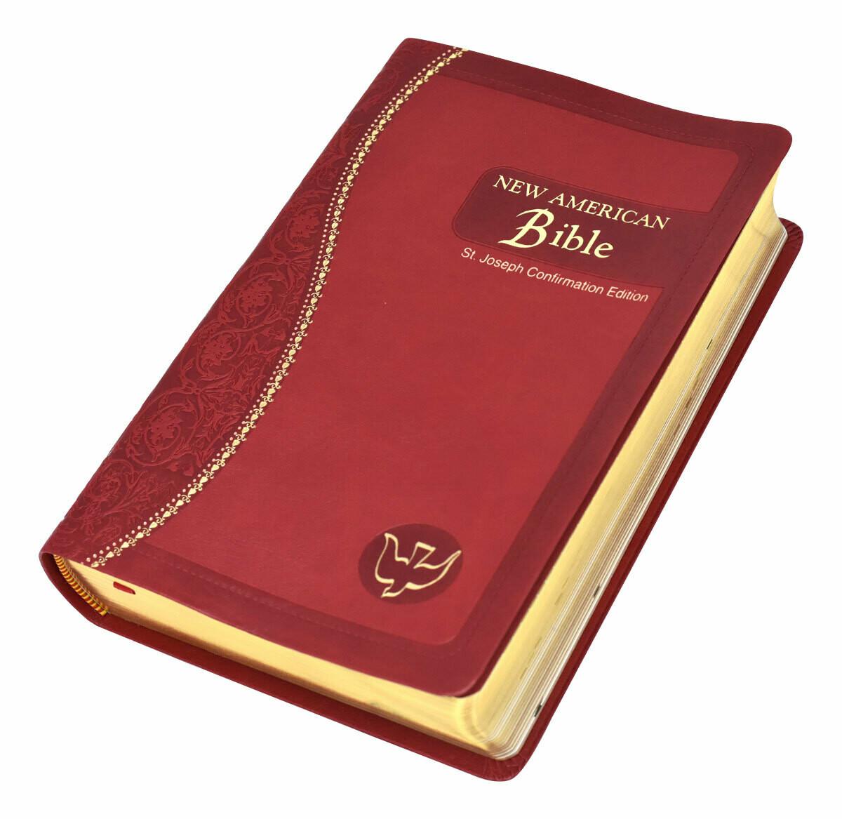 St Joseph Bible NABRE Confirmation Edition 609/19c