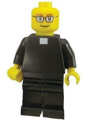 FATHER LEOPOLD CELEBRATES MASS Lego Set