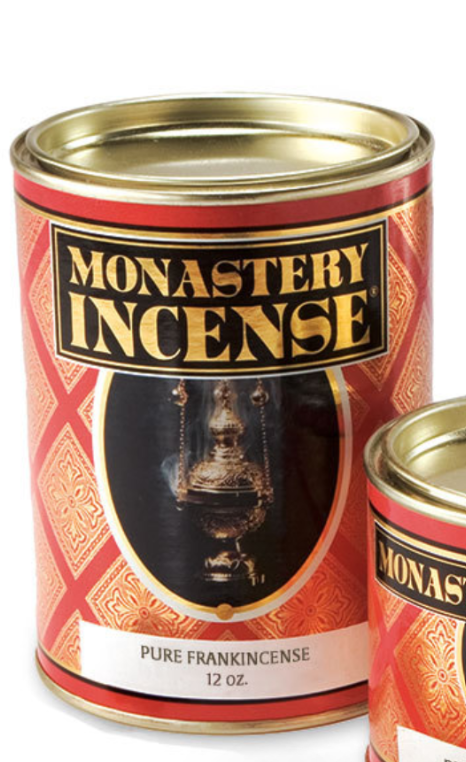 Pure Frankincense Incense - Monastery Incense