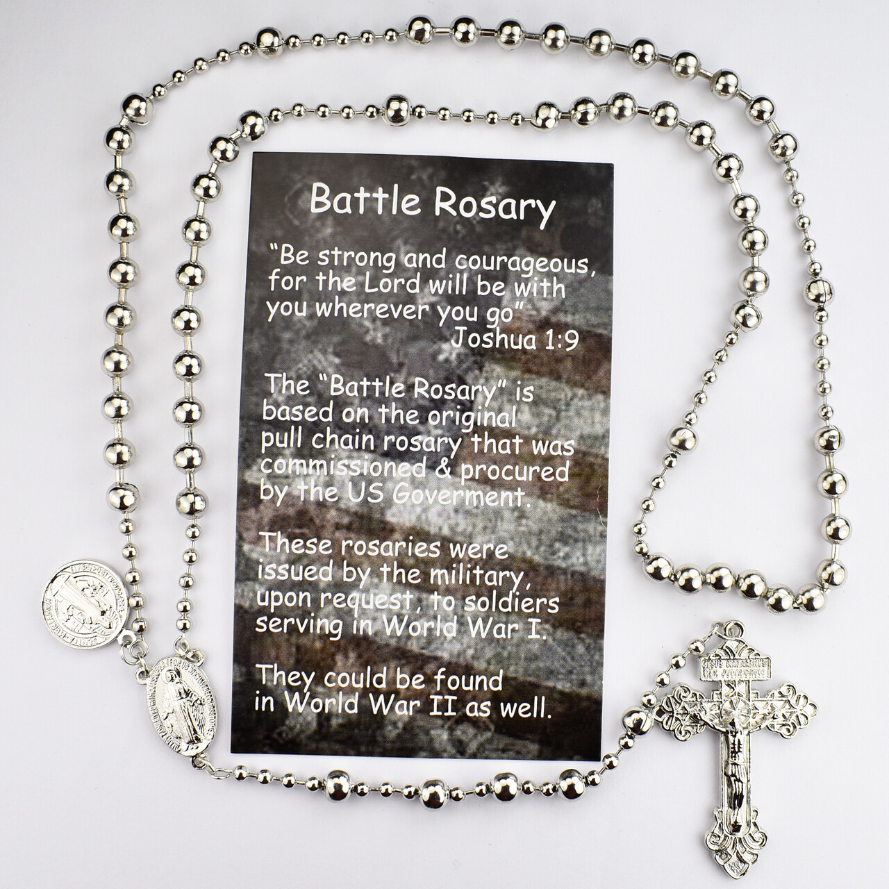 GOLD PLATED ST BENEDICT ROSARY