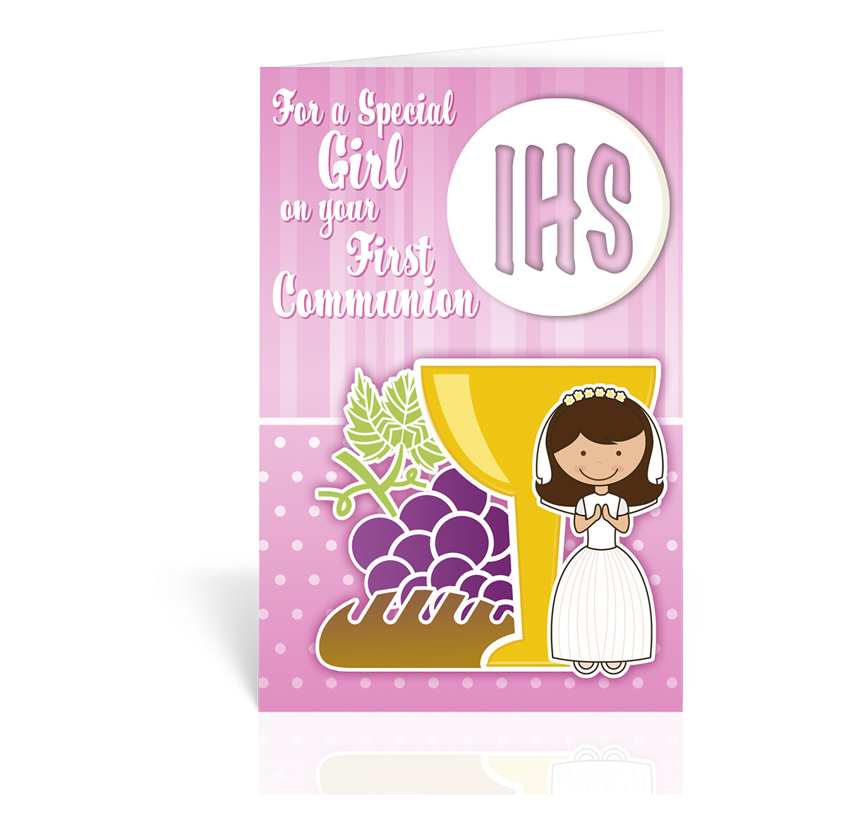 For a Special Girl First Communion Card FC-9205