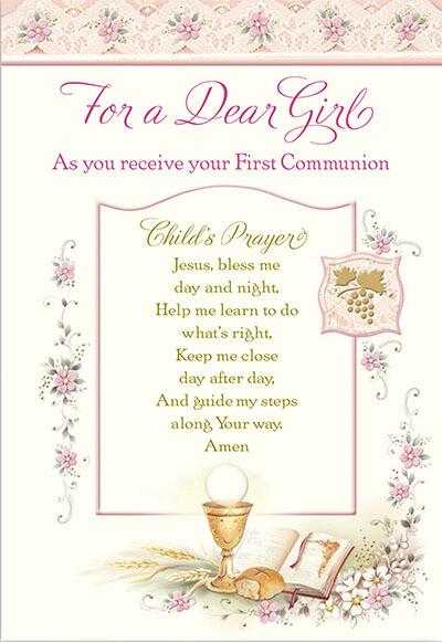 Dear Girl First Communion 89060