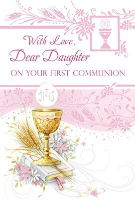 With Love Dear Daughter First Communion 82315
