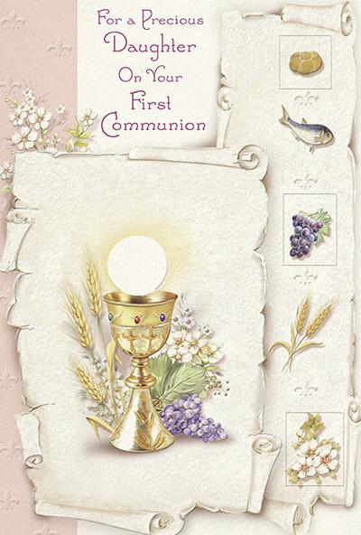 Precious Daughter First Communion 89032