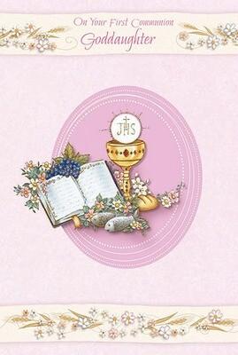 First Communion Goddaughter 89653