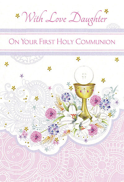 With Love Daughter First Communion 89062