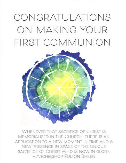 First Communion Card CC0009