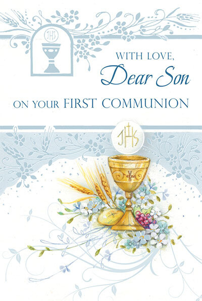 With Love Dear Son First Communion 82314