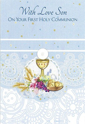 With Love Son First Communion 89063