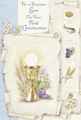 Precious Son First Communion 89033
