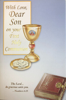 With Love Dear Son on Your First Holy Communion 69041
