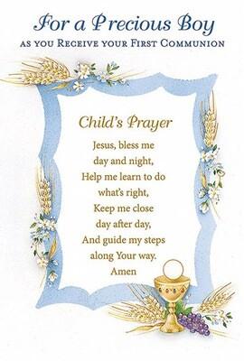 Precious Boy First Communion 87193