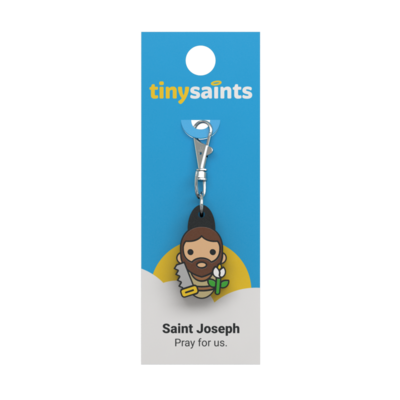 St Joseph Tiny Saints Key Chain