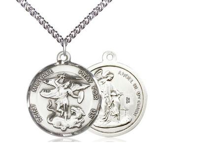 "St Michael Medal LRH 24"""