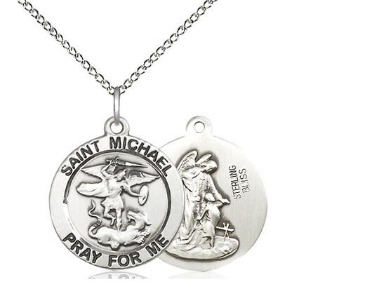 "St Michael Medal LRH 18"""