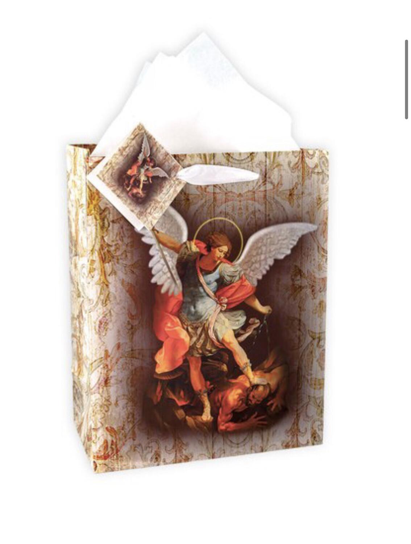 St Michael MD Gift Bag w/Tissue GB-333M