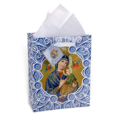 Gift Bag O L of Perpetual Help Med GB-208M