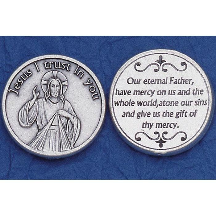 Pocket Token - Divine Mercy