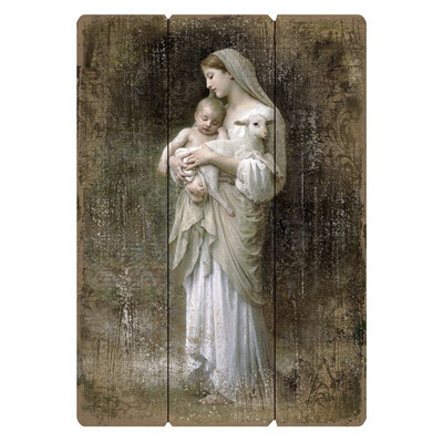 """L'Innocence Large 27"""" Pallet Wall Plaque"""