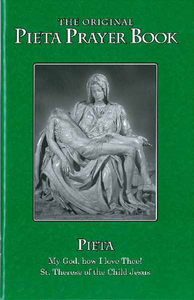Pieta Prayer Book Large Print Green