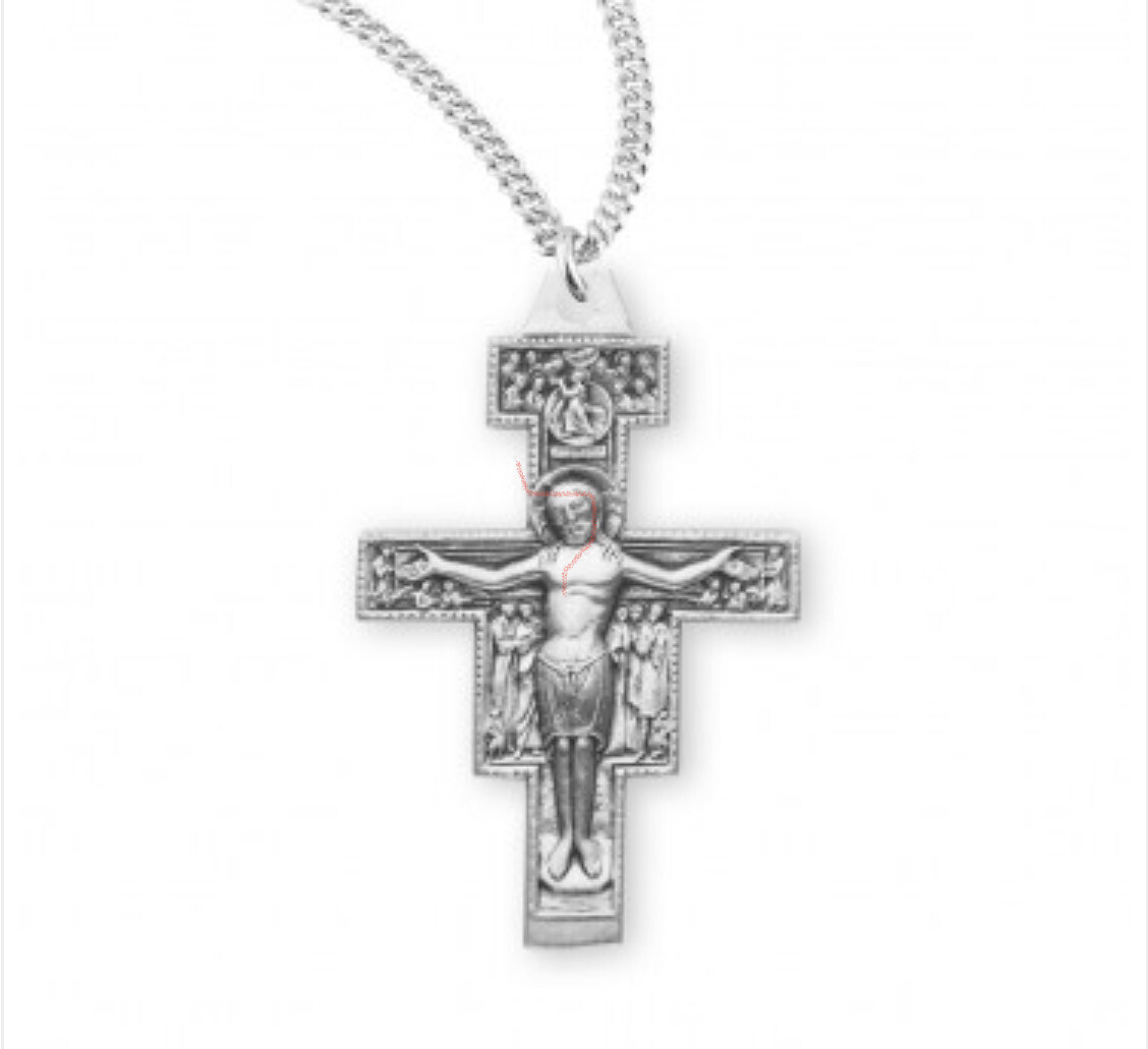 Sterling Silver Lg San Damiano CFX 20 S186620