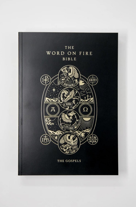 Word on Fire Bible: The Gospels NRSV paperback