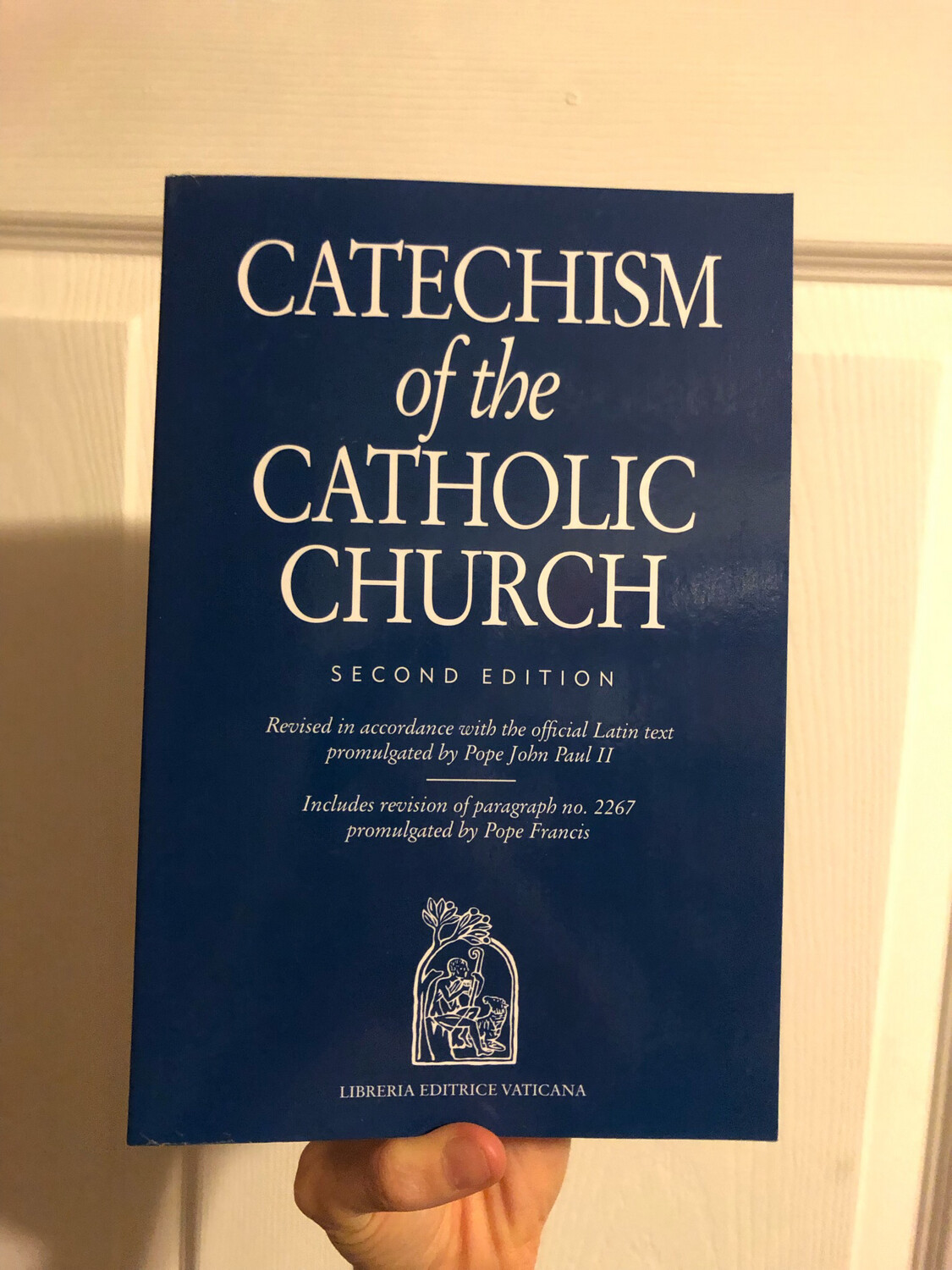Catechism of the Catholic Church 2nd Edition Blue Paperback